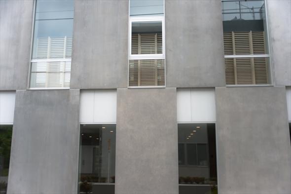 立川第一小学校体育館外観