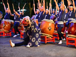 夏休みの始まりを告げる盆踊り大会~諏訪神社境内で行われた町内会の盆踊り大会に行ってきました。
