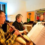 心に響く木管三重奏。「プラタナスがくれた贈り物 コンサート」開催