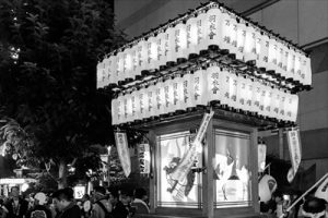立川よいと祭り万灯神輿パレード/お神輿に参加することで数多くのいいことが。