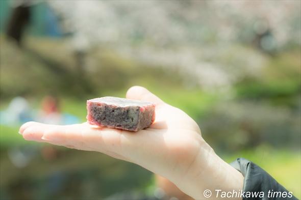 恵比寿豆園/桜きんつば