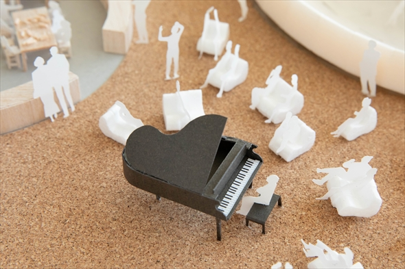 PLAY! PARK「音楽室」 (模型)