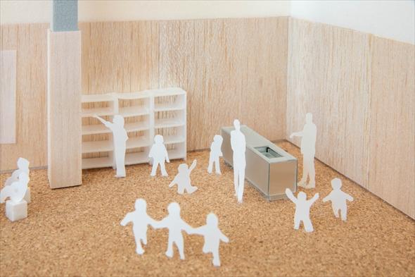 PLAY! PARK「キッチン」 (模型)