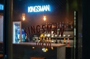 立川南口にビールも飲めるBARの様なBERBER「KINGSMAN TOKYO 立川店」