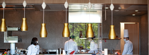 DAICHINO RESTAURANT オープンキッチン